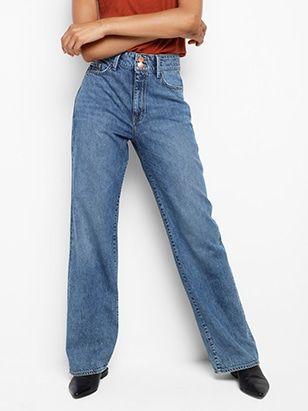 lindex jeans hög midja