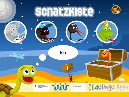 """Schatzkiste - Kostenlose Kinderbuch App zur Sprachförderung, iOS <span class=""""amp"""">&</span> Android"""