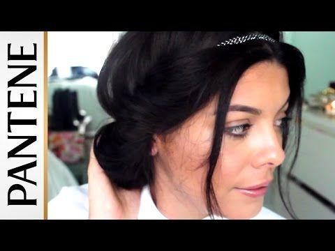 Headband Hair Tuck: Easy Updo Hairstyles with Sccastaneda   Pantene - YouTube