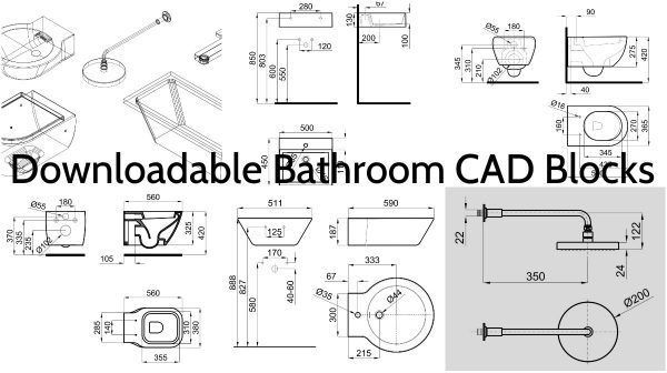 The Best Cad Blocks Images On Pinterest Cad Blocks Architecture - Bathroom cad blocks