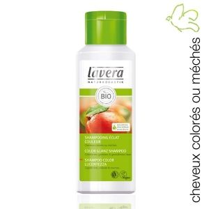 lavera shampooing eclat couleur mangue cheveux colors et mchs a la mangue biologique - Shampoing Bio Cheveux Colors