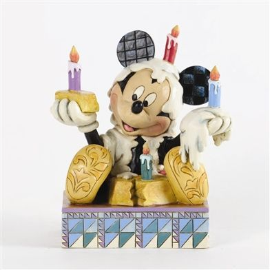 Disney Traditions Mickey Mouse with Birthday Cake Figurine by Jim Shore, 4033281