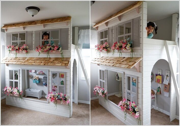 Thinking of setting up a play area for your kids? If yes then an indoor playhouse would be a great idea. An indoor playhouse is good when it is not possibl