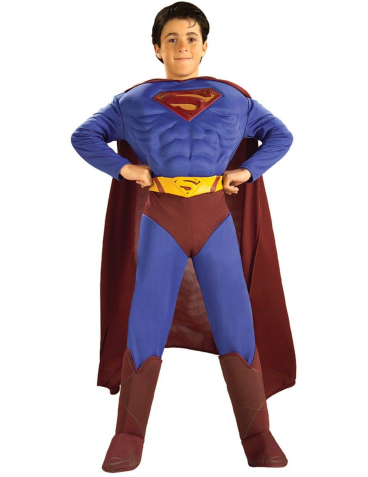 Child Superman Muscle Costume