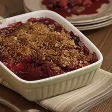 #Croustade aux #fraises et aux #amandes