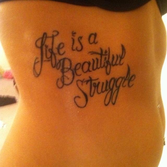 Believe Rib Tattoo Quotes Quotesgram: 17 Best Ideas About Rib Tattoo Script On Pinterest