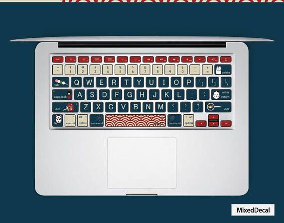 MacBook Pro Keyboard decal individual keys stickers #geekery #computer #accessories @EtsyMktgTool http://etsy.me/2hZqmEO #macbookdecal