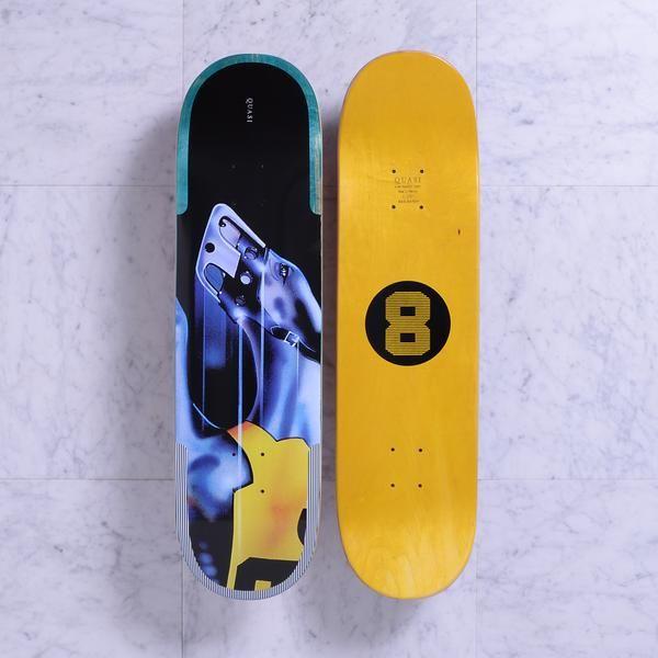 Quasi Skateboards Hound Two Aqua Skateboard Hound Skate Decks