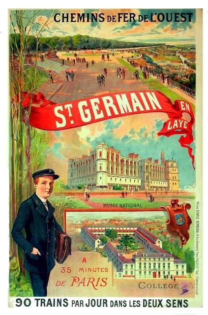 Saint-Germain en Laye et son château