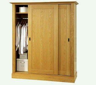 Jati Furniture Minimalis: ALMARI MINIMALIS 2 PINTU