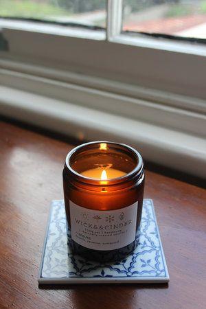 Spring Candle // wattle; jasmine; cumquat #wickandcinder #seasonal #spring #wattle #jasmine #cumquat #soycandle #candles #homedecor #homefragrance