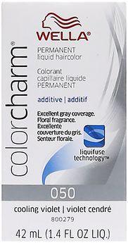 Color Charm Liquid Permanent Hair Color 50 Cooling Violet
