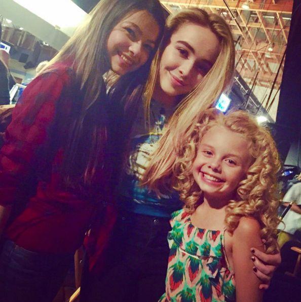 Sabrina Carpenter's 'Adventures In Babysitting' Co-Stars Visit Her On the Set of 'Girl Meets World' - Twist