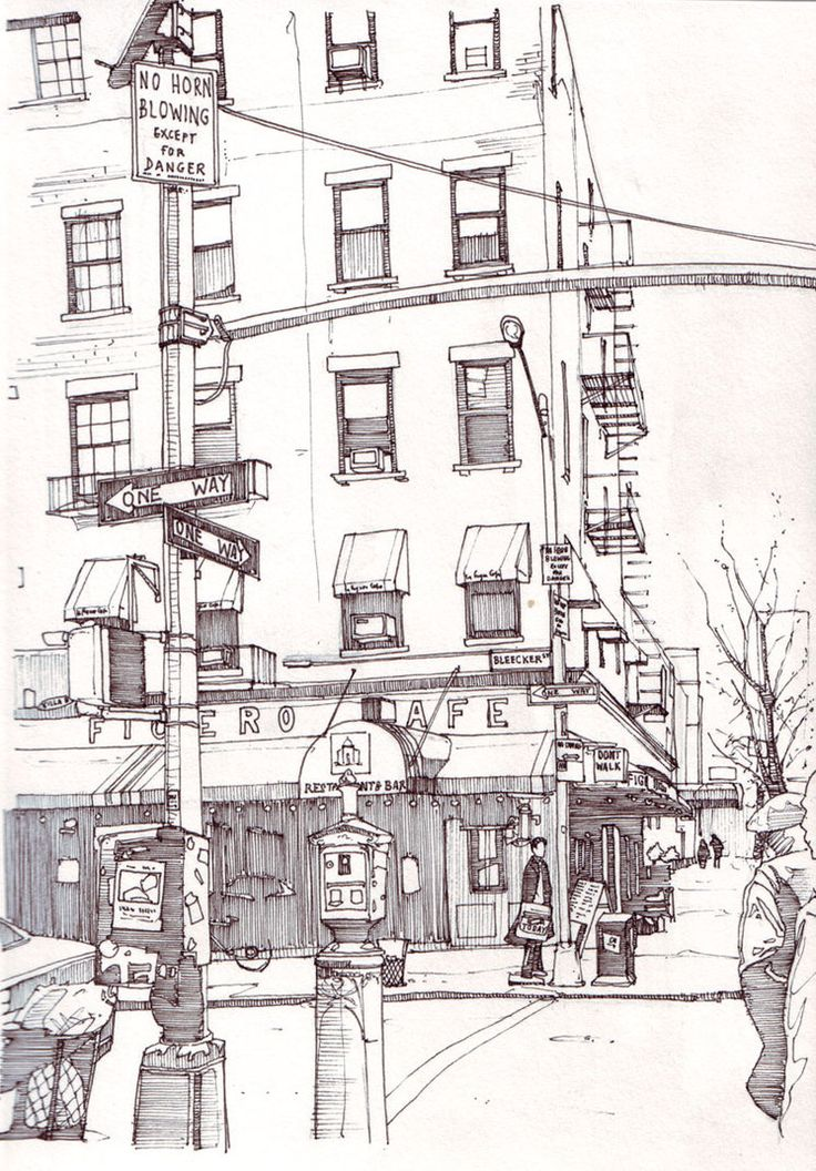 Bleecker St, New York by Edgeman13 on DeviantArt