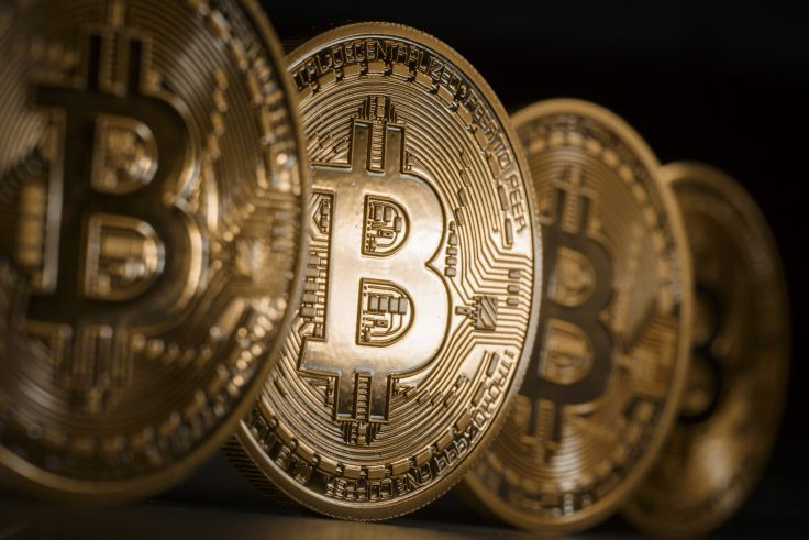 BITCOIN computer internet money coins