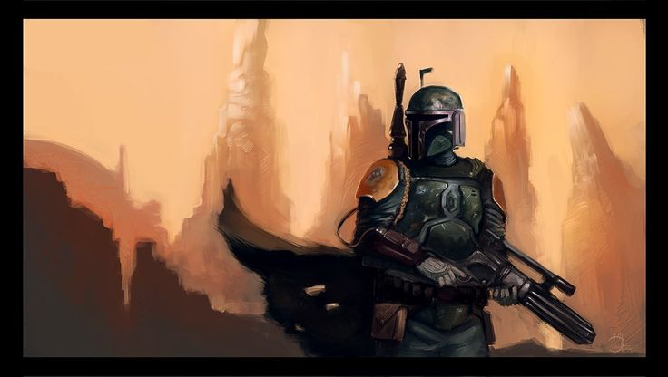 Boby Fett Bounty Hunter by weaponlogic