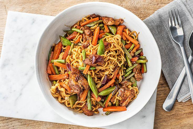 Savoury Steak Stir-Fry with Snow Peas and Carrots