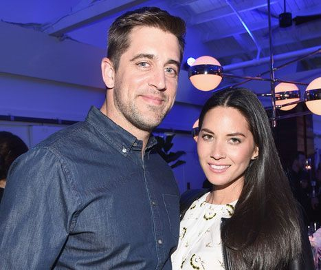 Aaron Rodgers Gushes About Girlfriend Olivia Munn