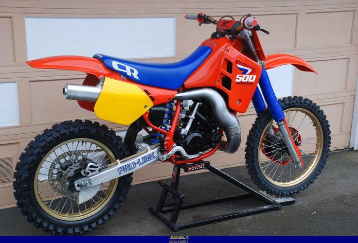 honda cr500 wiring harness 1987 cr500 honda, this bike shredded anyone behind it ... honda trx450er wiring harness