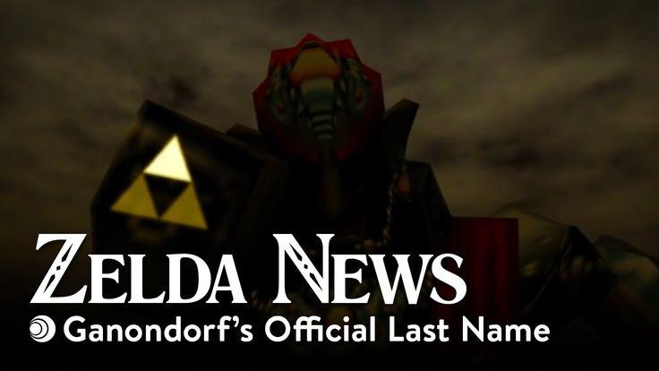 Zelda News - Ganondorf's Last Name