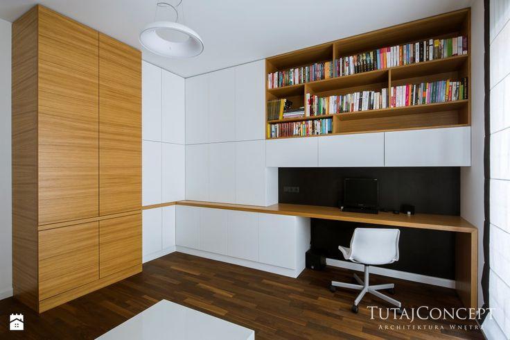 Wystrój wnętrz - Gabinet - pomysły na aranżacje. Projekty, które stanowią prawdziwe inspiracje dla każdego, dla kogo liczy się dobry design, oryginalny styl i nieprzeciętne rozwiązania w nowoczesnym projektowaniu i dekorowaniu wnętrz. Obejrzyj zdjęcia! - strona: 2