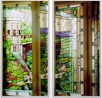 Art Nouveau stained glass in Oradea   True Romania
