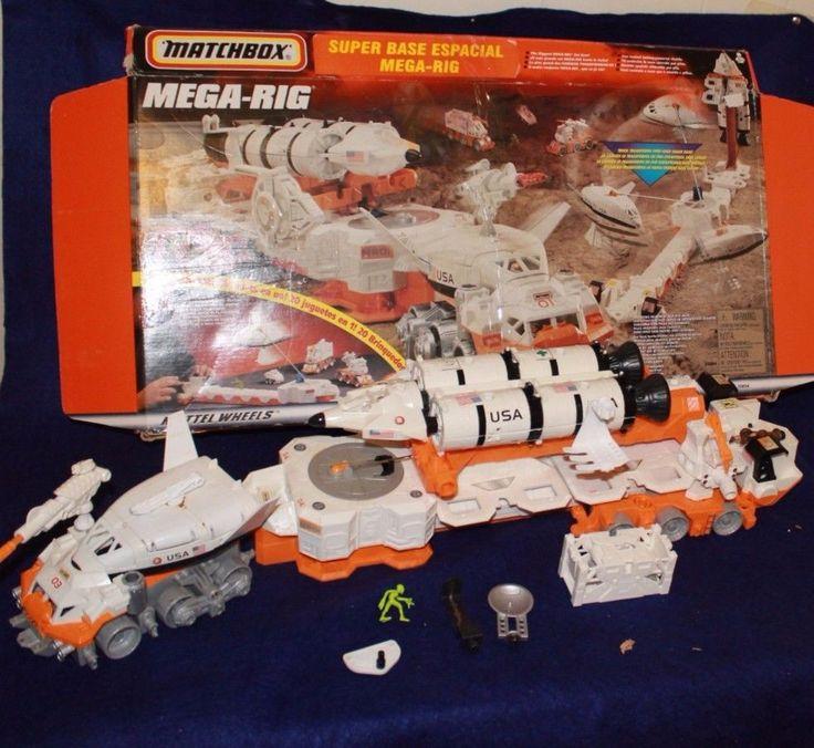 Matchbox Mega Rig Space Shuttle 20 Toys 1 W Box