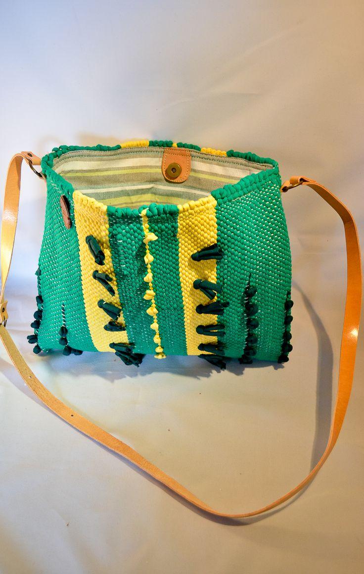 Handmade woven bag!!!