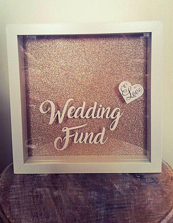 Wedding Fund Wedding Drop Box Honeymoon Fund Wedding Money