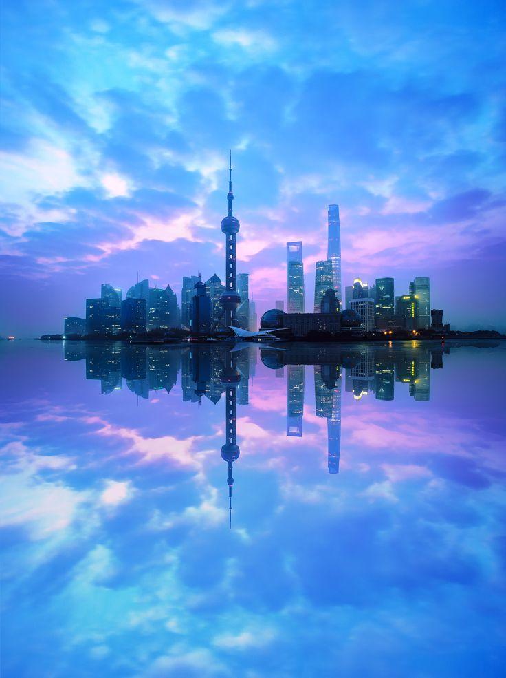 salida del sol de SKY Sebastián / Shanghai