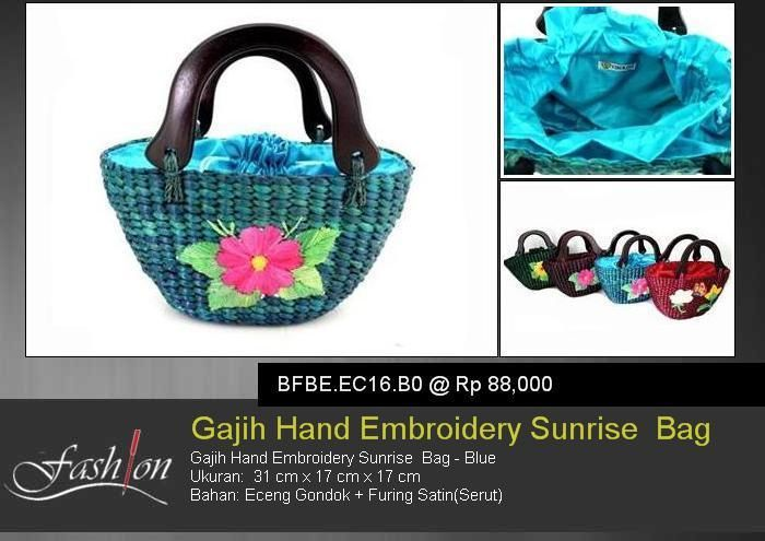 Gajih Hand Embroidery Sunrise Bag