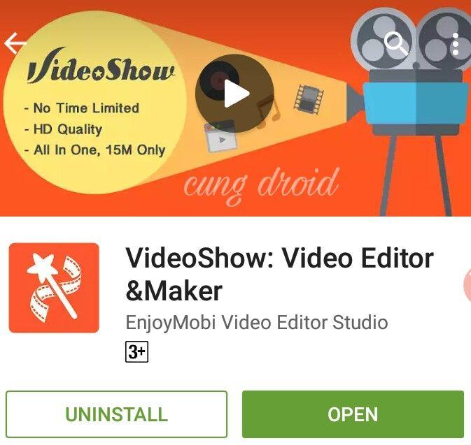 Aplikasi Editor Video Keren Untuk Hp Android | CungDroid