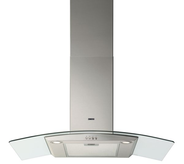 ZANUSSI ZHC9234X Chimney Cooker Hood - Stainless Steel £193