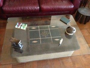 Our Creative Customers Use Custom Cut Glass Table Tops For DIY Coffee Tables You