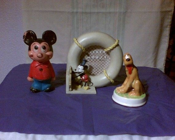 412 Best Images About Mickey Mouse Figurines On Pinterest