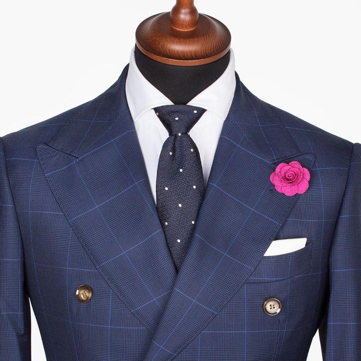 Krawatte binden – Doppelter Windsor-Knoten