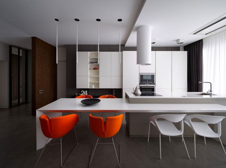 A sophisticated interior in dnepropetrovsk