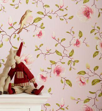 Eijffinger Un Bisou Collection Magnolia and Birds 310011