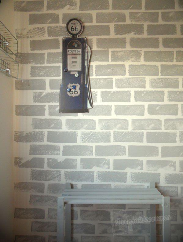 25 melhores ideias sobre paredes de tijolo falso no for Ladrillos falsos decorativos