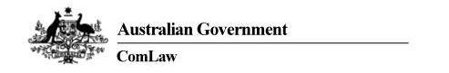 Australian Goverment Education Act 2013 http://www.comlaw.gov.au/Details/C2013A00067