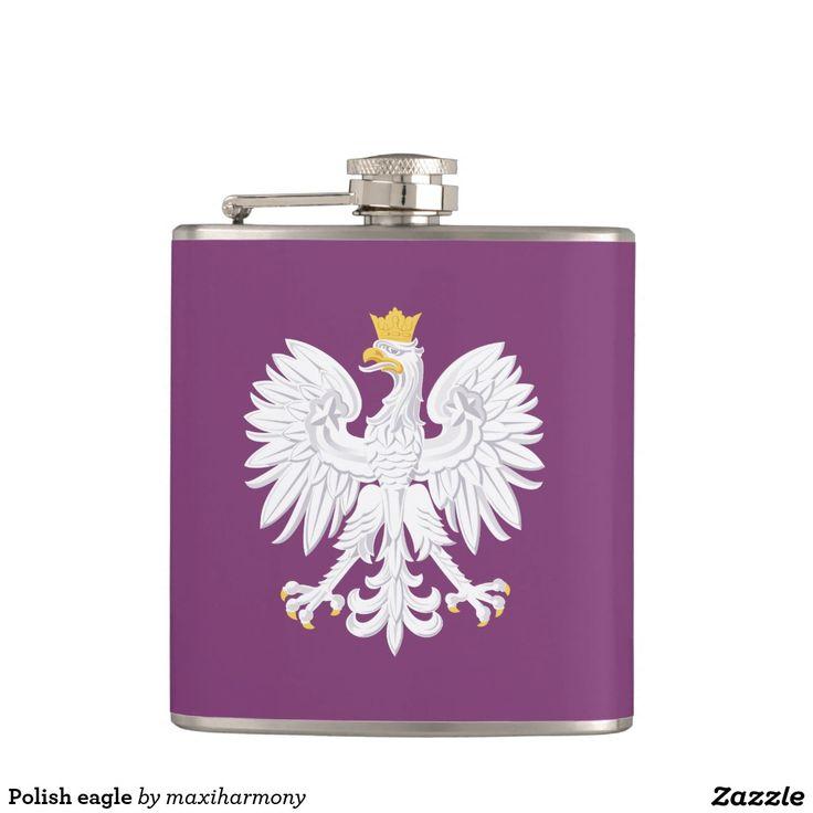 Polish eagle flask