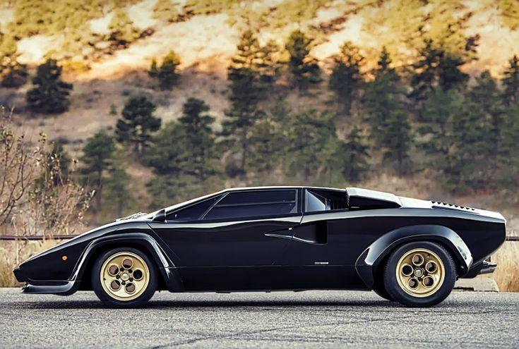 Dieser 1979 Lamborghini Countach ist eine Hölle eines Autos