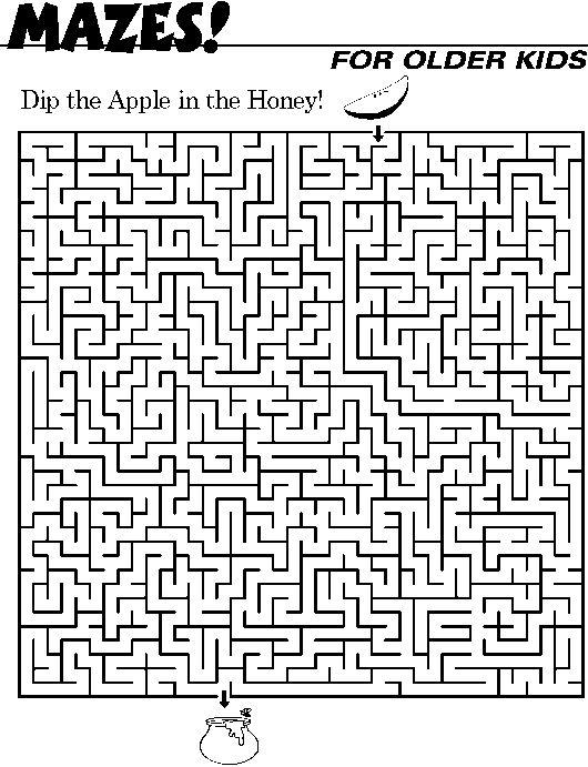 Fun Maze Worksheets : Kids mazes google search activities pinterest