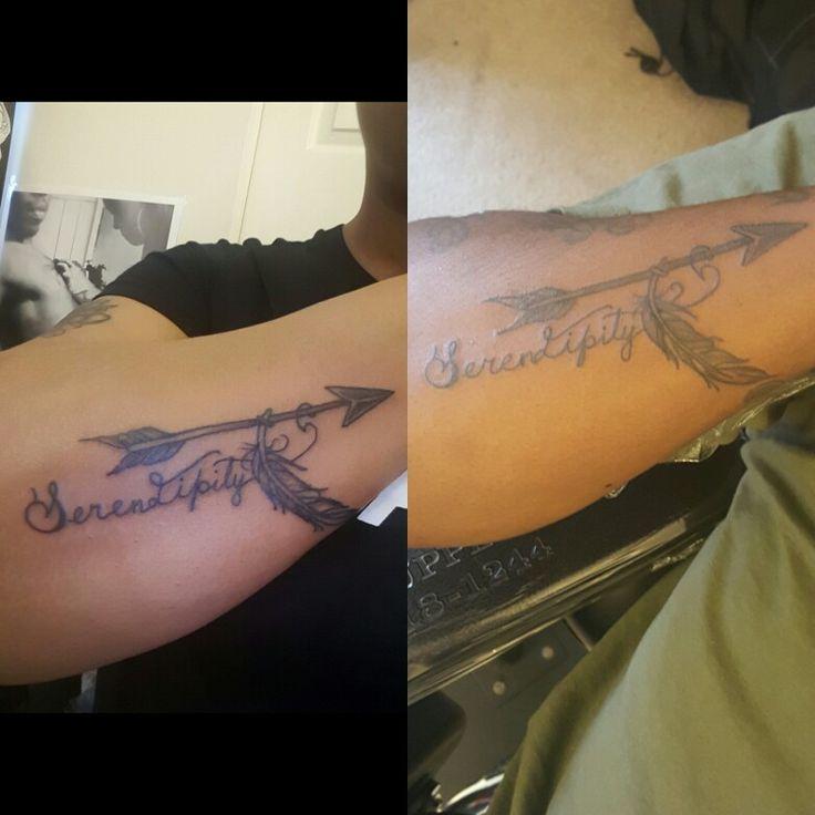 Serendipity Matching Couples Tattoo