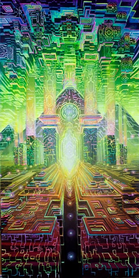 The Art of Jonathan Solter #visionary art