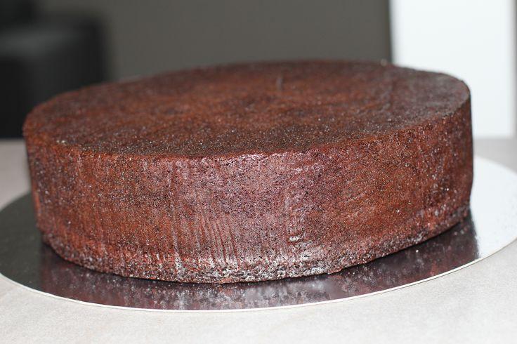 Sjokoladekake. Oppskrift til alle størrelser