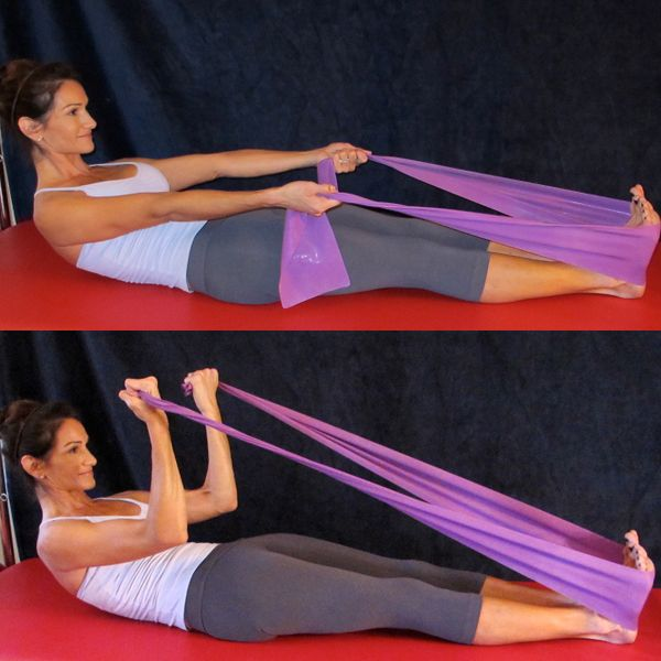 Resistance Band Exercises for the Upper Body: Biceps Curl with Resistance Band