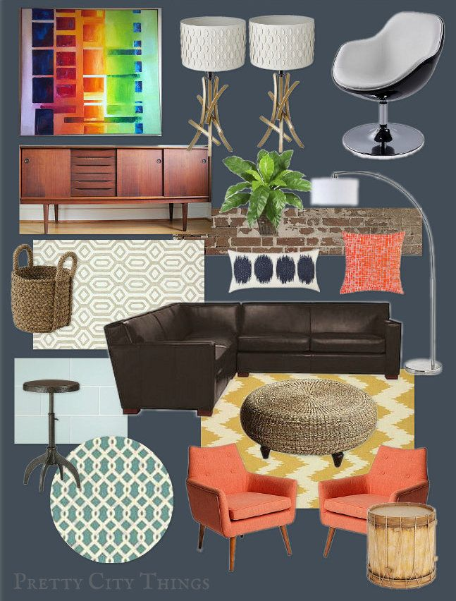 85 Best Brown And Coral Decor Images On Pinterest