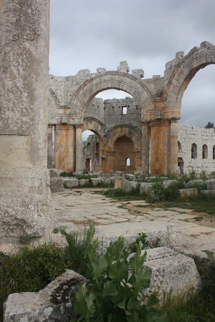 The Church of St Simeon, SyriaSimeon Ruins, Ancient Culture, St Simeon, Middle East