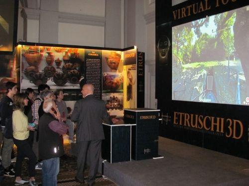 """Dal 26 maggio fino al 31 agosto ad Orvieto, presso la ex chiesa di San Giacomo, in piazza Duomo, sarà visitabile la mostra multimediale """"Etruschi 3D"""""""